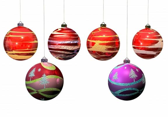 Weihnachtskugeln rilo naumann als kunstdruck oder for Weihnachtskugeln bilder