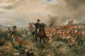 The Duke of Wellington at Waterloo