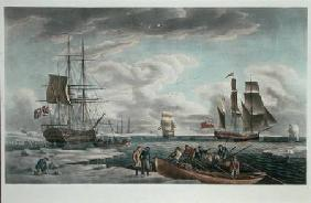The Greenland Whale Fishery, published by John & Josiah Boydell 1789 our