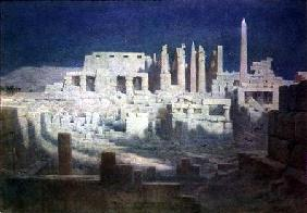 Moonlight at Karnak