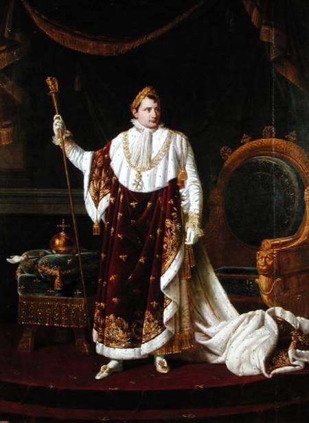 portrait of napoleon 17691821 in his robert lefevre