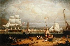Liverpool Harbour 1840
