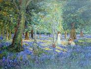Ron  Waddams - Bluebell Wood, 1908