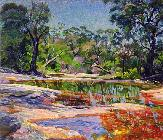 Ron  Waddams - Wirreanda Creek, New South Wales, Australia (oil on canvas)