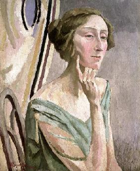 Portrait of Edith Sitwell (1887-1964) 1915