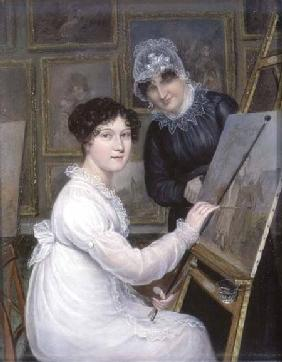 The Artist and her Mother