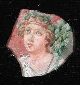 Head of a bacchante