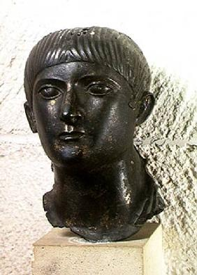 Head of a young man, known as 'The Young Aquitaine Chief'