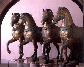 The Four Horses of San Marco, removed from the exterior in 1979 2nd-3rd ce