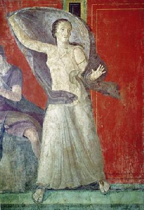 The Startled Woman, North Wall, Oecus 5 60-50 BC