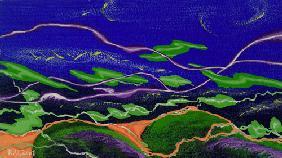 Kunstdruck von Romed Unsinn - Der Wind