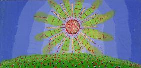 Kunstdruck von Romed Unsinn - Die Sonne