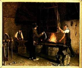 Interior of the Forge 1837