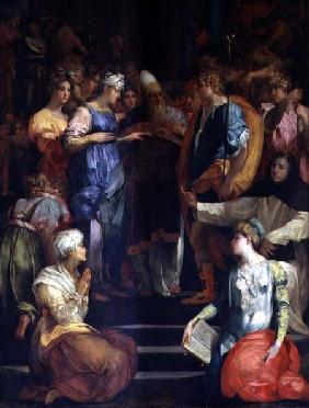 The Marriage of the Virgin 1523