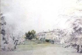 Razumovsky Palace (pencil & w/c)