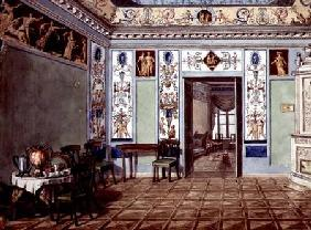 Neo-Classical Etruscan Breakfast Room 1820  on