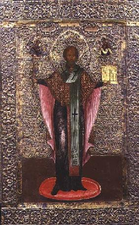 St. Nicholas of Mozhaisk, icon c.1700