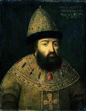 Portrait of Tsar Alexei I Mihailovitch (1629-76)
