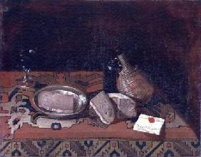 Still Life with a Carpet Tablecloth c.1730