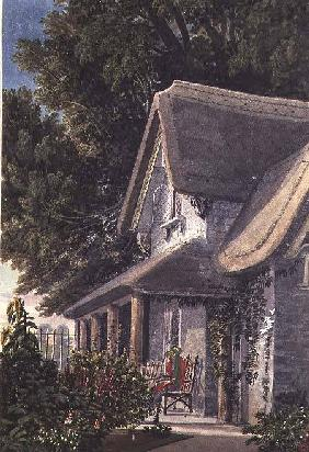 The Lodge at Broomwell House c. 1824