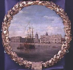 Greenwich Hospital from the River 1748