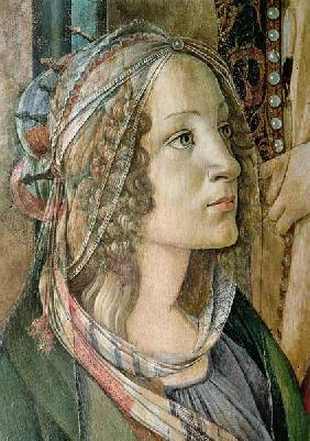 Detail of St. Catherine from the Altarpiece of San Barnaba 1843