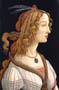 Weibliches-Brustbild--Idealbildnis-der-Simonetta-Vespucci-