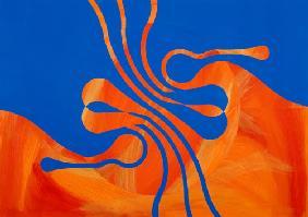 Kunstdruck von Heike Schenk Arena - Meereswesen