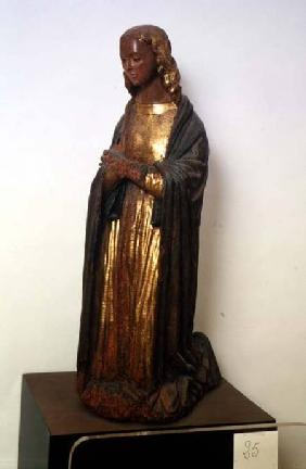 Figure of the Virgin from ...