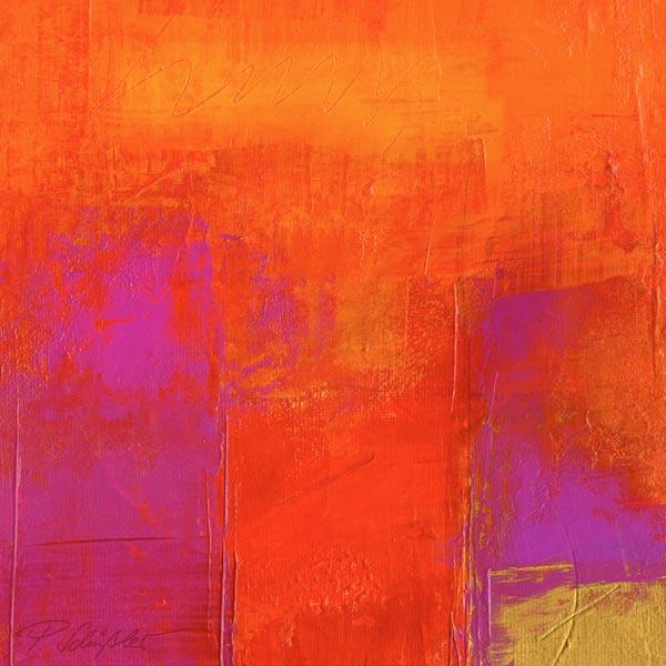 Magenta eenergy petra sch ler als kunstdruck oder - Magenta wandfarbe ...