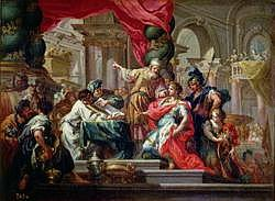 Alexander the Great in the Temple of Jerusalem, c.1750