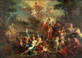 The Vision of Aeneas in the Elysian Fields