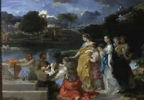 Moses Saved from the Water 1655