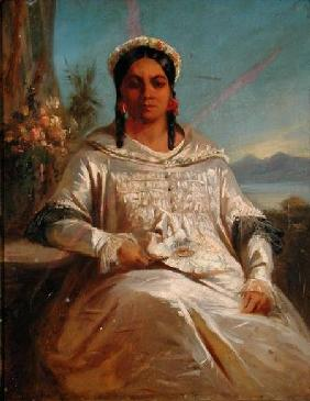 Queen Pomare IV (1827-77) of Tahiti