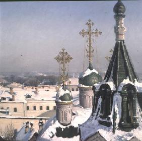 View from a Window of the Moscow School of Painting - Detail 1878