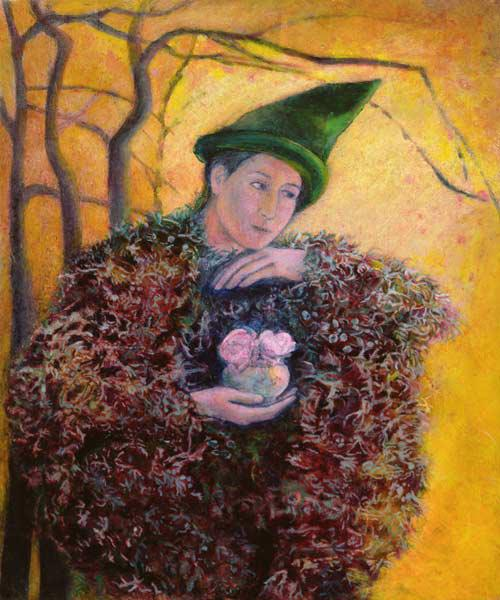 The Keeper of the Roses, 2003 (oil on gesso panel)