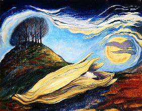 The Seed, 1999 (oil on panel)