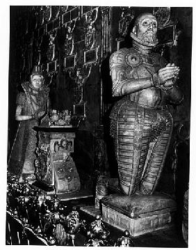 Effigies of members of the Mecklenburg ducal line in the cathedral of Guestrow