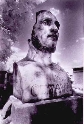 Tombstone in the Form of a Bust of a Man from Montparnasse Cemetery, Paris