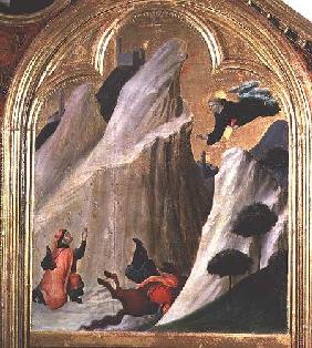 Agostino Saving a Man who Fell from his Horse, from the Altar of the Blessed Agostino Novello c.1328