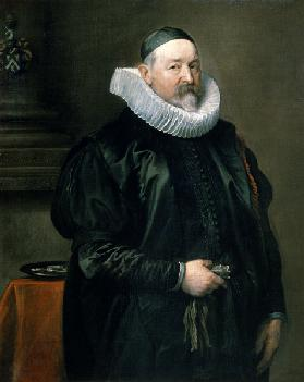 Portrait of Adriaen Stevens 1629