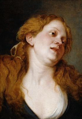 The Penitent Magdalen (oil on canvas) 1606