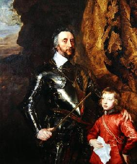 Thomas Howard, 2nd Earl of Arundel, with his Grandson Thomas, later 5th Duke of Norfolk, 1635-36 (oi