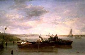 The Thames Below Greenwich c.1827