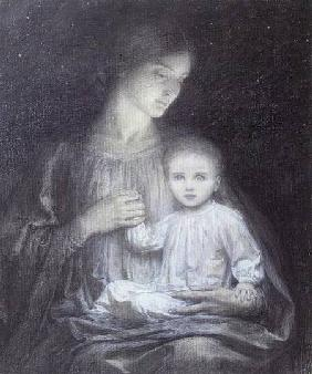 Mother and Child c.1920