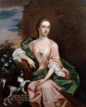 Catharine Littleton, wife of John Floyer 1697