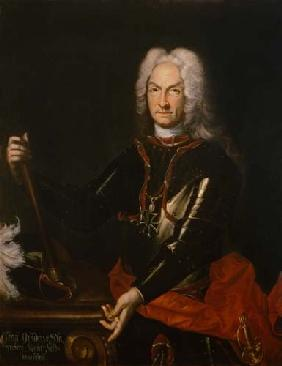 Sir Godfrey Kneller - Field Marshall Count Guidobald von Starhemberg (1654-1737), Austrian military commander in Spain dur