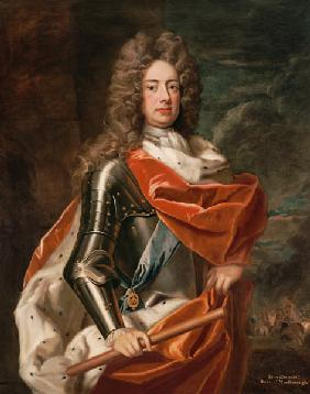 Portrait of John Churchill (1650-1722) 1st Duke of Marlborough (oil on canvas) 1780