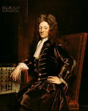 Portrait of Sir Christopher Wren (1632-1723) 1711
