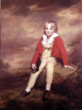 Sir George Sinclair as a boy